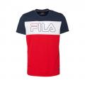 502-FILA RED/REACOAT BLUE