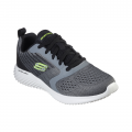 CCGY-CHARCOAL MESH/GRAY SYNTHETIC/TRIM